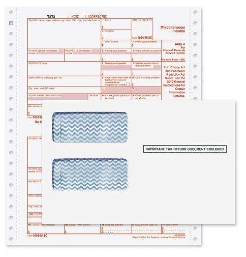 1099-MISC Continuous 4-part Bundle - Transource