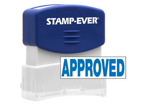 APPROVED Stock Title Stamp