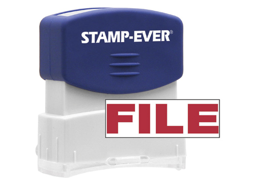 FILE Stock Title Stamp