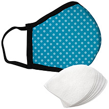 Aqua Dots - Large Face Mask with Filters