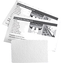 Flat Card Reader Cleaning Card