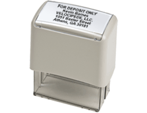 Ideal 200 Self-Inking Stamp