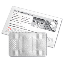 POS/EMV Waffle Technology Cleaning Card